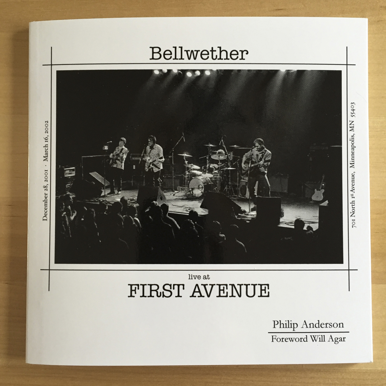 "Phillip Anderson, ""Bellwether live at First Avenue"""