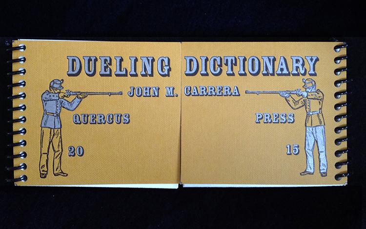 """John Carrera, """"Dueling Dictionary"""""""