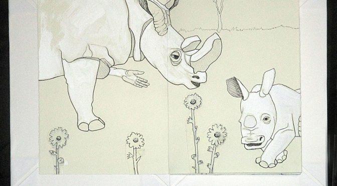 "Madeleine Hope Arthurs, ""White Rhino"""
